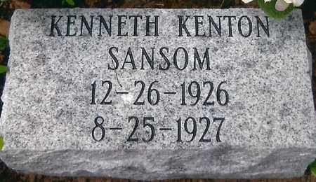 SANSOM, KENNETH KENTON - Boone County, West Virginia | KENNETH KENTON SANSOM - West Virginia Gravestone Photos