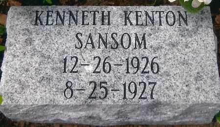 SANSOM, KENNETH KENTON - Boone County, West Virginia   KENNETH KENTON SANSOM - West Virginia Gravestone Photos