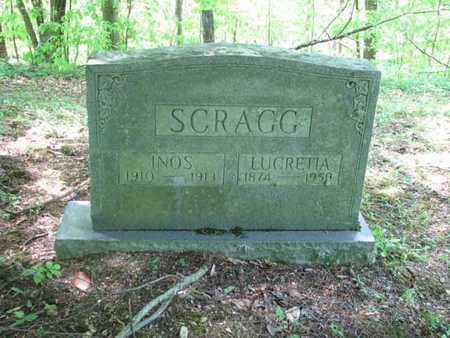 SCRAGG, INOS - Boone County, West Virginia   INOS SCRAGG - West Virginia Gravestone Photos