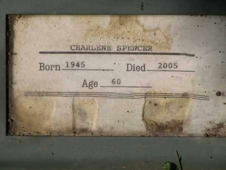 SPENCER, CHARLENE - Boone County, West Virginia | CHARLENE SPENCER - West Virginia Gravestone Photos