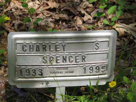 """SPENCER, CHARLIE S """"CHEEBIE"""" - Boone County, West Virginia 