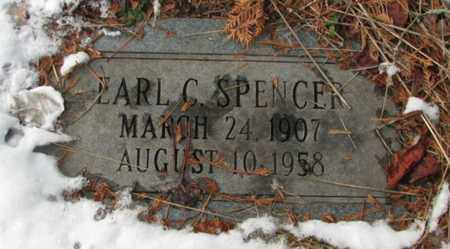 SPENCER, EARL CRANSTON - Boone County, West Virginia | EARL CRANSTON SPENCER - West Virginia Gravestone Photos