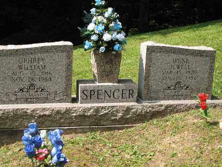 SPENCER, IRENE JEWELL - Boone County, West Virginia | IRENE JEWELL SPENCER - West Virginia Gravestone Photos