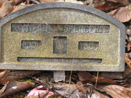SPENCER, INFANT - Boone County, West Virginia | INFANT SPENCER - West Virginia Gravestone Photos