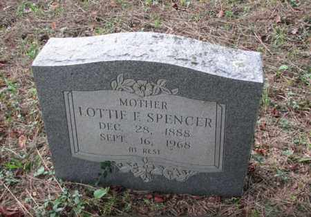 BALL SPENCER, LOTTIE FLORENCE - Boone County, West Virginia   LOTTIE FLORENCE BALL SPENCER - West Virginia Gravestone Photos
