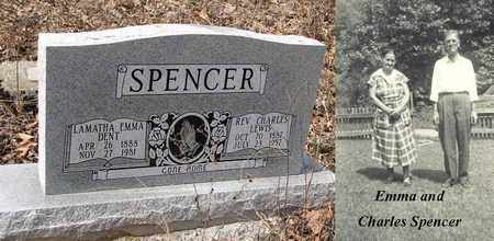 SPENCER, LAMATHA EMMA - Boone County, West Virginia | LAMATHA EMMA SPENCER - West Virginia Gravestone Photos