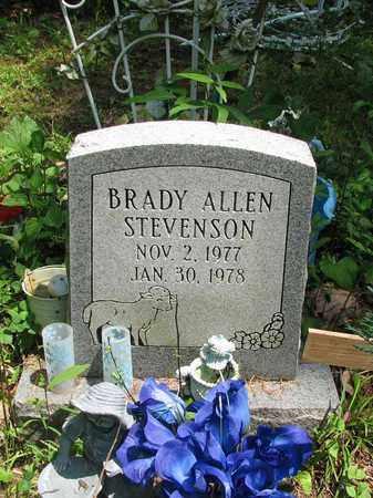 STEVENSON, BRADY ALLEN - Boone County, West Virginia | BRADY ALLEN STEVENSON - West Virginia Gravestone Photos