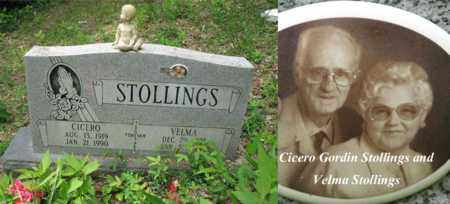 STOLLINGS, CICERO GORDIN - Boone County, West Virginia | CICERO GORDIN STOLLINGS - West Virginia Gravestone Photos