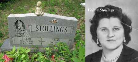 STOLLINGS, VELMA RACHEL - Boone County, West Virginia | VELMA RACHEL STOLLINGS - West Virginia Gravestone Photos