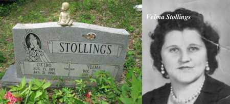 STOLLINGS, VELMA RACHEL - Boone County, West Virginia | VELMA RACHEL STOLLINGS - West Virginia Gravestone Photos
