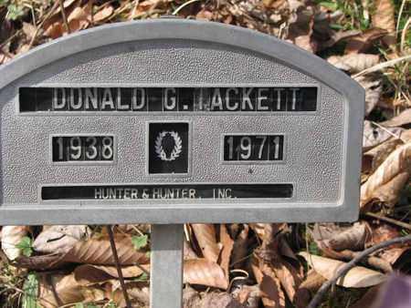 TACKETT, DONALD G. - Boone County, West Virginia | DONALD G. TACKETT - West Virginia Gravestone Photos