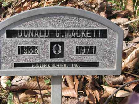 TACKETT, DONALD G. - Boone County, West Virginia | DONALD G. TACKETT - West Virginia Gravestone Photos