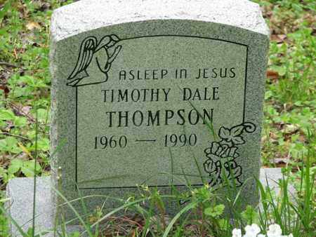 THOMPSON, TIMOTHY DALE - Boone County, West Virginia | TIMOTHY DALE THOMPSON - West Virginia Gravestone Photos