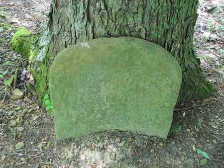 UNKNOWN, 1ST ROW 16TH GRAVE - Boone County, West Virginia   1ST ROW 16TH GRAVE UNKNOWN - West Virginia Gravestone Photos