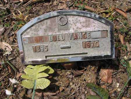 VANCE, LULU - Boone County, West Virginia | LULU VANCE - West Virginia Gravestone Photos