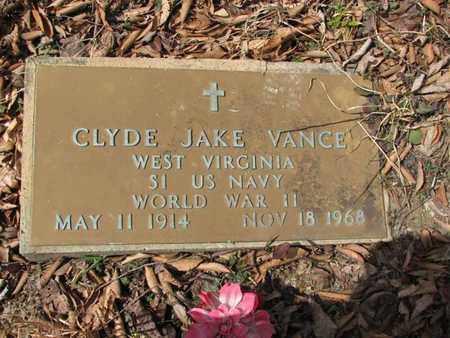 VANCE (NAVY WW II), CLYDE JAKE - Boone County, West Virginia | CLYDE JAKE VANCE (NAVY WW II) - West Virginia Gravestone Photos