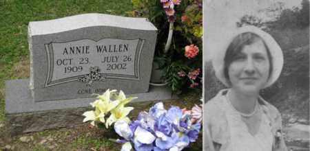 WALLEN, ANNIE ROSE - Boone County, West Virginia | ANNIE ROSE WALLEN - West Virginia Gravestone Photos