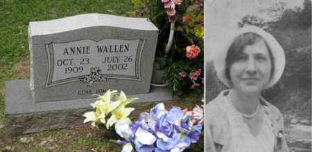 SPENCER WALLEN, ANNIE ROSE - Boone County, West Virginia   ANNIE ROSE SPENCER WALLEN - West Virginia Gravestone Photos