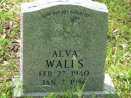 WALLS, ALVA - Boone County, West Virginia | ALVA WALLS - West Virginia Gravestone Photos