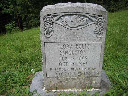 SINGLETON, FLORA BELLE - Braxton County, West Virginia | FLORA BELLE SINGLETON - West Virginia Gravestone Photos