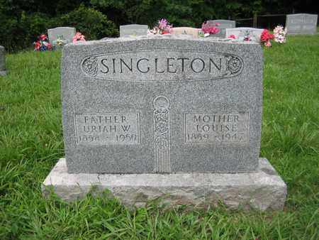 MCNEMER SINGLETON, LOUISE - Braxton County, West Virginia   LOUISE MCNEMER SINGLETON - West Virginia Gravestone Photos