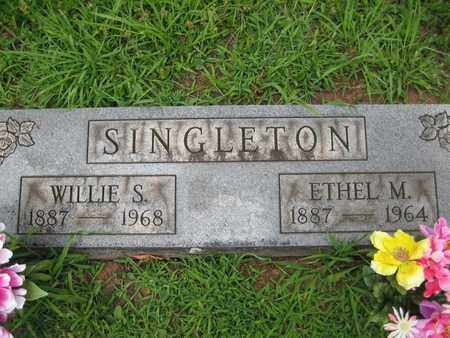 SINGLETON, ETHEL M - Braxton County, West Virginia | ETHEL M SINGLETON - West Virginia Gravestone Photos