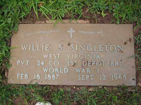 SINGLETON (VETERAN WWI), WILLIE S - Braxton County, West Virginia | WILLIE S SINGLETON (VETERAN WWI) - West Virginia Gravestone Photos