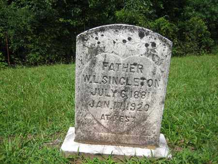 SINGLETON, WIRT - Braxton County, West Virginia | WIRT SINGLETON - West Virginia Gravestone Photos
