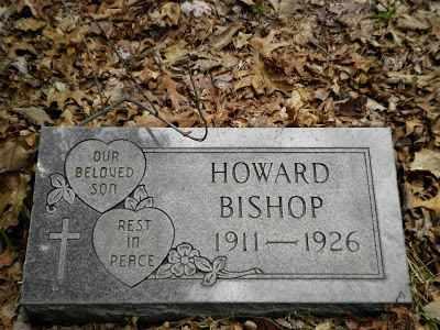 BISHOP, HOWARD - Clay County, West Virginia | HOWARD BISHOP - West Virginia Gravestone Photos
