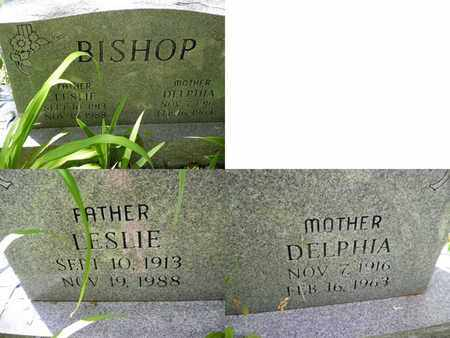 BISHOP, LESLIE - Clay County, West Virginia | LESLIE BISHOP - West Virginia Gravestone Photos