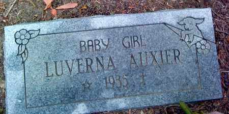 AUXIER, LUVERNA - Fayette County, West Virginia | LUVERNA AUXIER - West Virginia Gravestone Photos