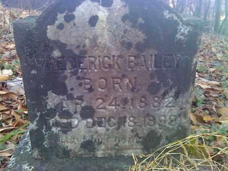 BAILEY, FREDRICK - Fayette County, West Virginia | FREDRICK BAILEY - West Virginia Gravestone Photos