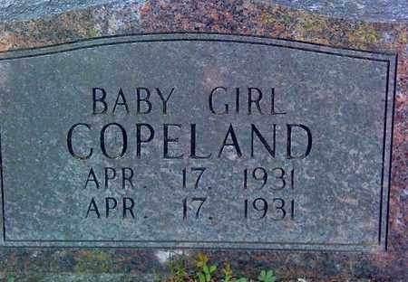 COPELAND, BABY GIRL - Fayette County, West Virginia   BABY GIRL COPELAND - West Virginia Gravestone Photos
