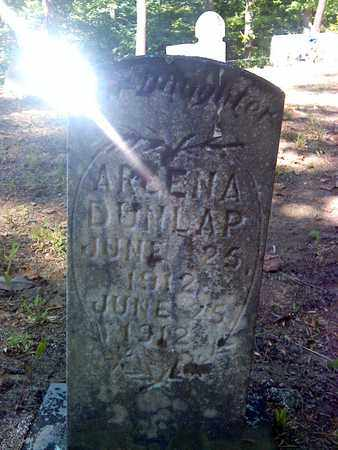 DUNLAP, ARLENA - Fayette County, West Virginia | ARLENA DUNLAP - West Virginia Gravestone Photos
