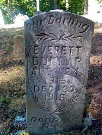 DUNLAP, EVERETT - Fayette County, West Virginia | EVERETT DUNLAP - West Virginia Gravestone Photos