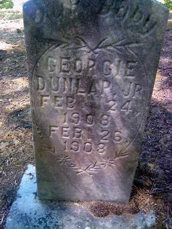 DUNLAP, GEORGIE - Fayette County, West Virginia | GEORGIE DUNLAP - West Virginia Gravestone Photos