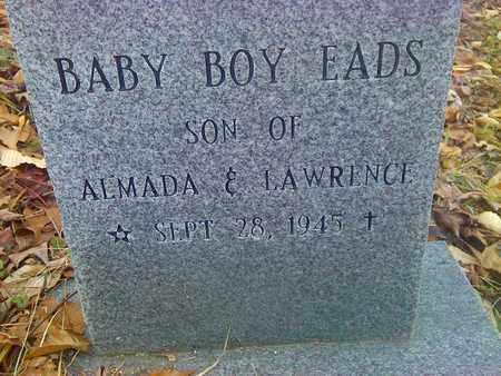 EADS, BABY BOY - Fayette County, West Virginia   BABY BOY EADS - West Virginia Gravestone Photos
