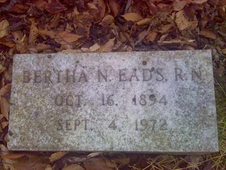 EADS, BERTHA - Fayette County, West Virginia   BERTHA EADS - West Virginia Gravestone Photos