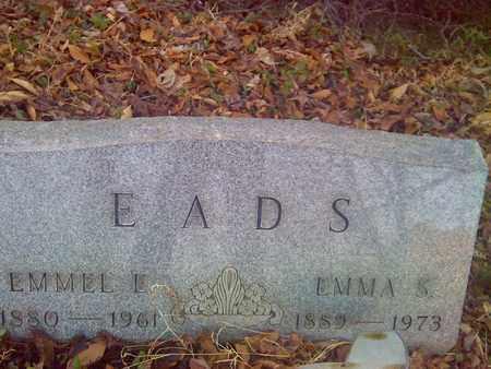 EADS, EMMEL - Fayette County, West Virginia | EMMEL EADS - West Virginia Gravestone Photos