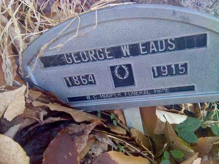 EADS, GEORGE - Fayette County, West Virginia   GEORGE EADS - West Virginia Gravestone Photos