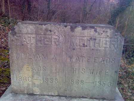 EADS, KATE - Fayette County, West Virginia | KATE EADS - West Virginia Gravestone Photos