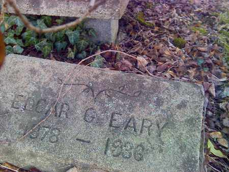 EARY, EDGAR - Fayette County, West Virginia   EDGAR EARY - West Virginia Gravestone Photos