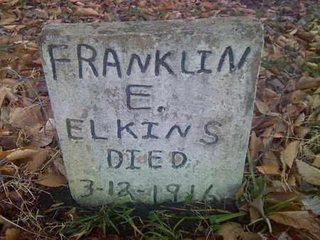 EKINS, FRANKLIN - Fayette County, West Virginia   FRANKLIN EKINS - West Virginia Gravestone Photos