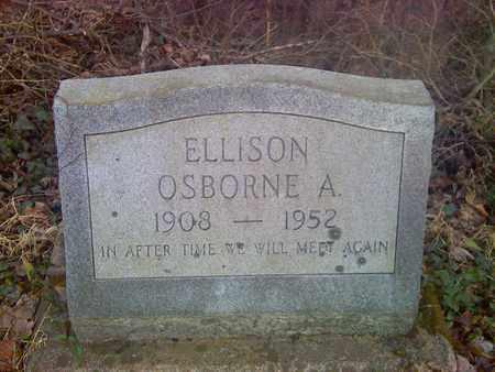 ELLISON, OSBORNE - Fayette County, West Virginia   OSBORNE ELLISON - West Virginia Gravestone Photos