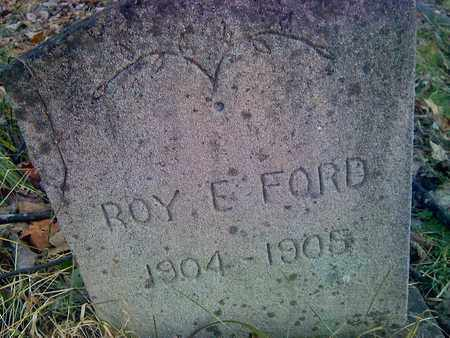 FORD, ROY E - Fayette County, West Virginia | ROY E FORD - West Virginia Gravestone Photos