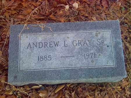 GRAY, SR., ANDREW L - Fayette County, West Virginia | ANDREW L GRAY, SR. - West Virginia Gravestone Photos
