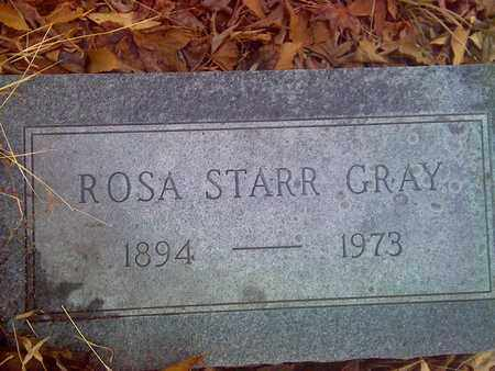STARR GRAY, ROSA - Fayette County, West Virginia | ROSA STARR GRAY - West Virginia Gravestone Photos