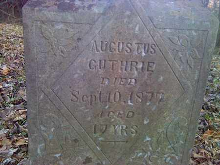 GUTHRIE, AUGUSTUS - Fayette County, West Virginia | AUGUSTUS GUTHRIE - West Virginia Gravestone Photos