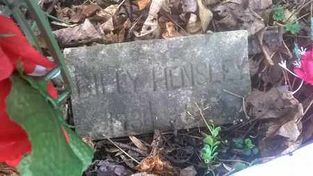 HENSLEY, BILLY - Fayette County, West Virginia | BILLY HENSLEY - West Virginia Gravestone Photos