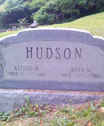 HUDSON, ALFRED H - Fayette County, West Virginia | ALFRED H HUDSON - West Virginia Gravestone Photos